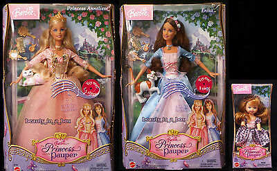 Erika Barbie Doll Anneliese Kelly Princess and the Pauper Lot 3