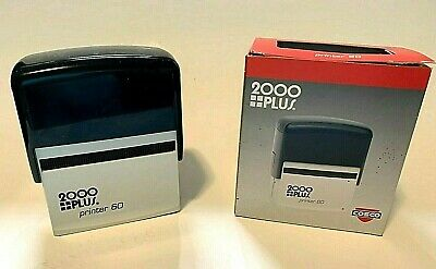 Cosco 2000 Plus Printer 60 Self Inking Style Blank Stamp Dater Nos