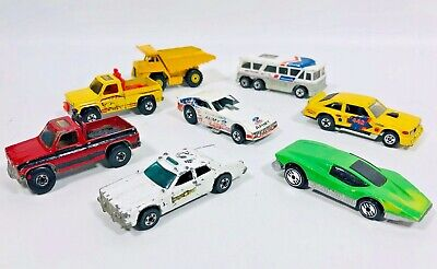 1970s HOT WHEELS DIECAST CAR TRUCK LOT OF 8 HONG KONG MALAYSIA FORD CHEVY