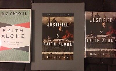 Justified by Faith Alone DVD, Study Guide, and Book by R.C. Sproul