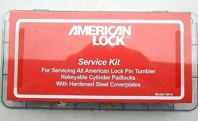 American Padlock Masterkeying  Kit Sk-8 For Lock Rekeying  Locksmith