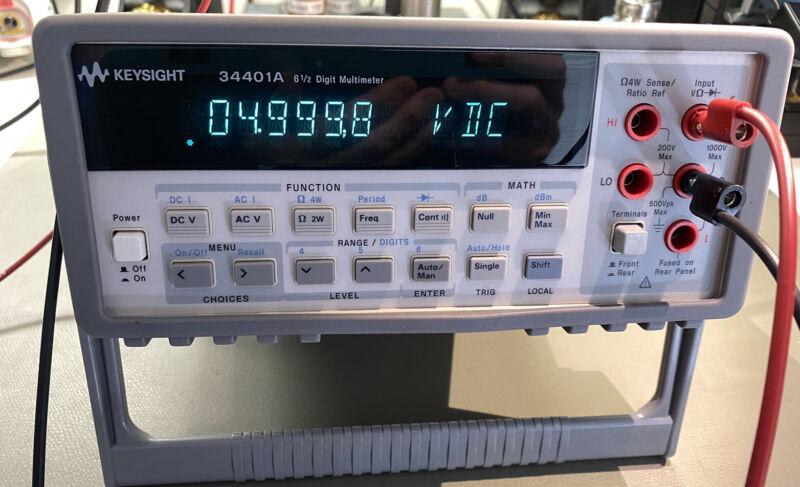 HP 34401A 6-1/2 Digit Digital Multimeter DMM