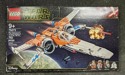 LEGO Star Wars 75273 Poe Dameron's X-Wing Fighter NEW FACTORY SEALED (box dam)