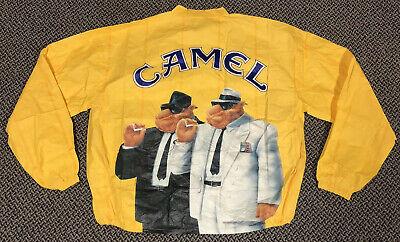 Vintage 90's CAMEL CIGARETTES Windbreaker Paper Jacket Size XL NEW