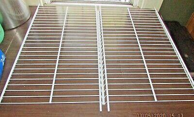 Frigidaire Upright Freezer Wire Shelf 297367400 Set of 2!