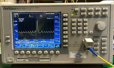 Anritsu Ms9710b Optical Spectrum Analyzer Calibrated