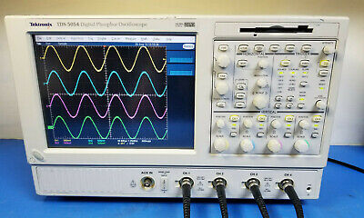 Tektronix Tds5054 500 Mhz 5 Gsas Dpo Digital Phosphor Oscilloscope