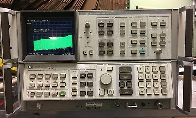 Hp 8566a Spectrum Analyzer 100hz To 22ghz With 85662a Display - Used