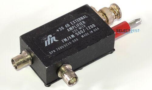 AEROFLEX/IFR/MARCONI 7005-5249-000 +30db EXTERNAL AMPLIFIER **LOOK** (REF.: G)