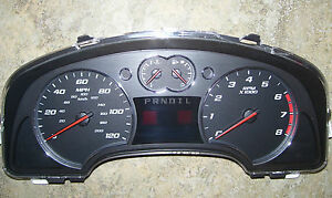 2007-07-Chevy-Equinox-Speedometer-Instrument-Cluster-Gauge-IPC-Repair-service