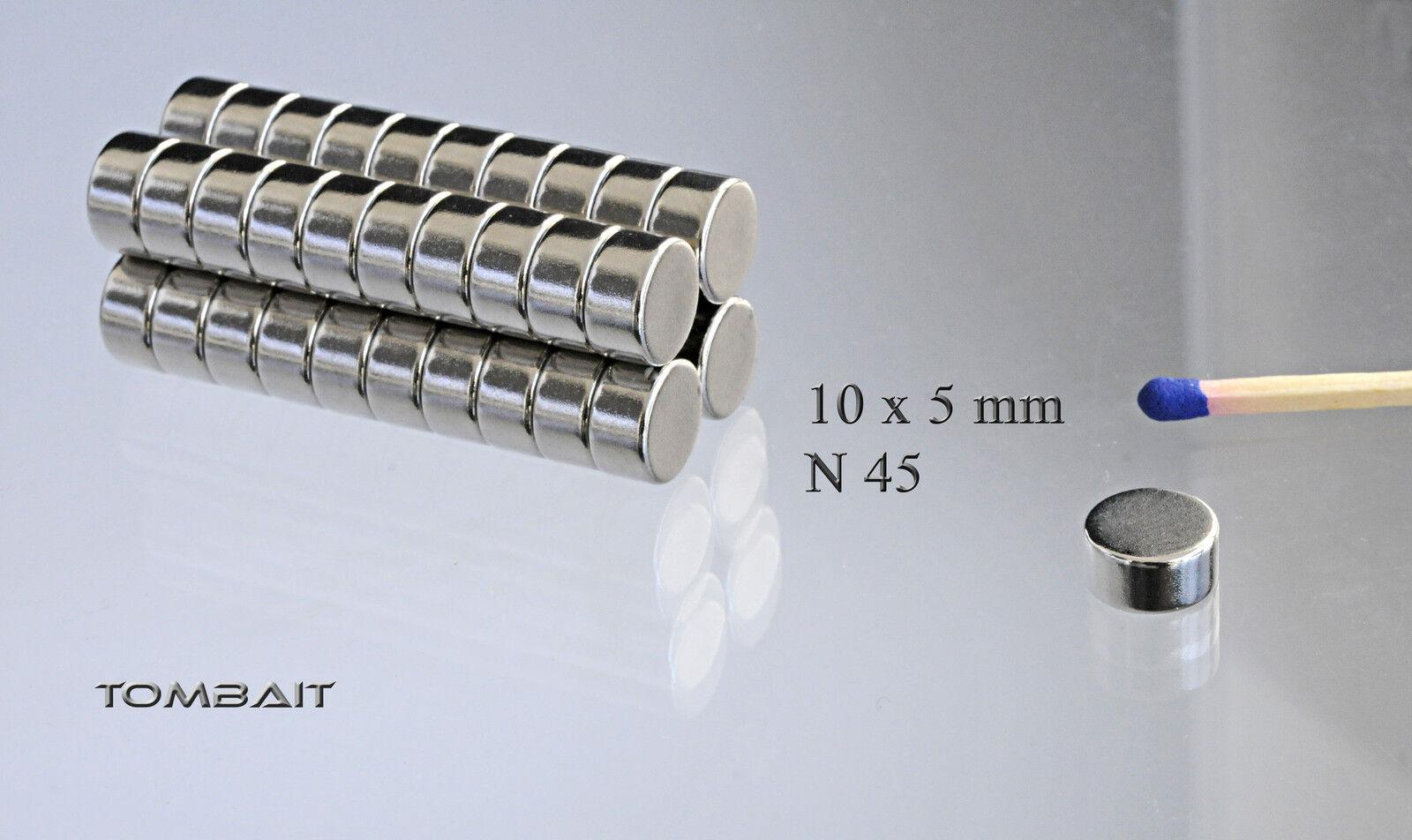 neodym mini magnet 10x1mm 5 stk super starke magnete pinnwand k hlschrankmagnet eur 2 96. Black Bedroom Furniture Sets. Home Design Ideas
