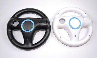 Karte Schwarz Und Weiß (2x Nintendo Wii Lenkrad Weiß und Schwarz Mario Kart Controller Zubehör Wheel)