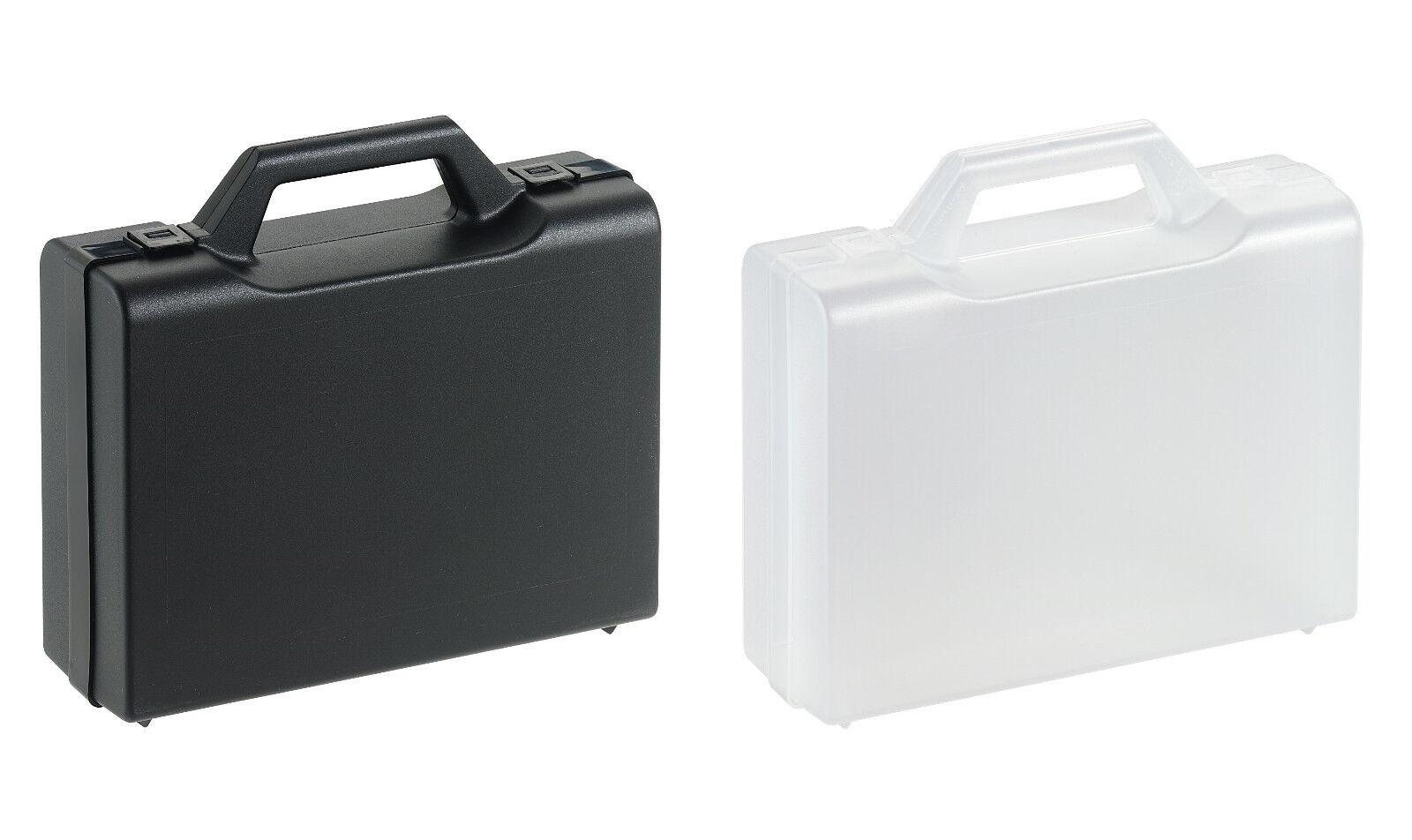 Universal Kunststoffkoffer Werkzeugkoffer Plastikkoffer PP 336 x 290 x 84 mm