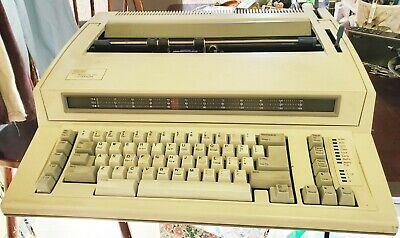 Ibm Wheelwriter 1000 By Lexmark Electric Typewriter Machine Type 781-024