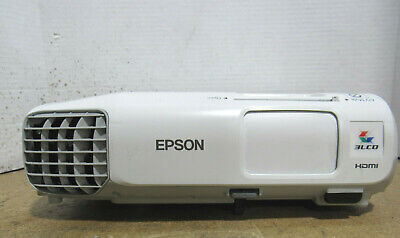 Tested Epson PowerLite X27 H692A 3LCD XGA Projector 2700 Lumens 856 Lamp Hours