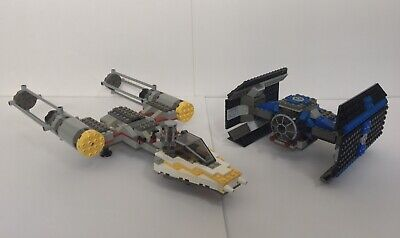 LEGO Star Wars TIE Fighter & Y-wing (7150) 99% Complete w/o Minifigures & Manual