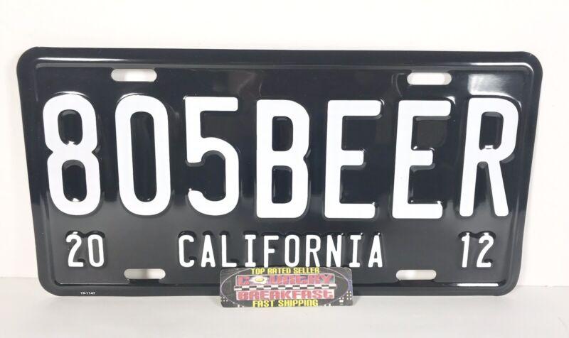 "Firestone Walker Brewing 805 Blonde Ale License Plate Metal Beer Sign 12x6"" New!"