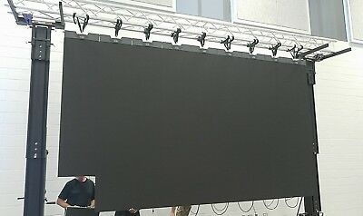 14.5 x 8.2ft Turn Key HD LED Video Wall System! for sale  Shipping to India