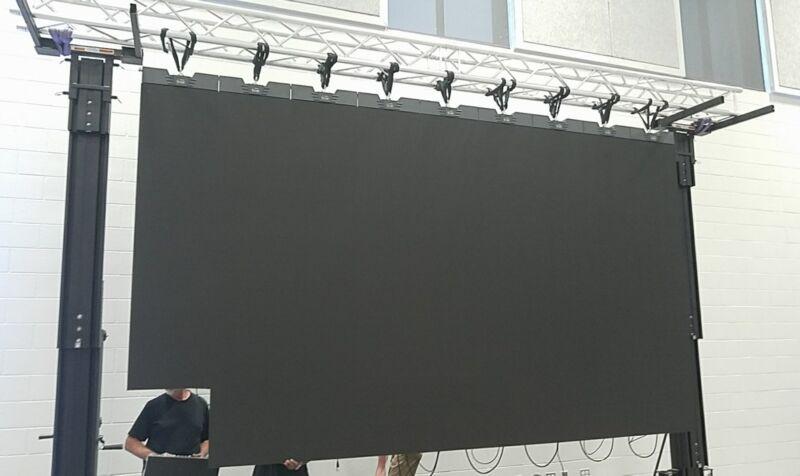 14.5 x 8.2ft Turn Key HD LED Video Wall System!