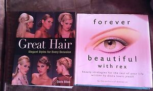 Hair and make up books