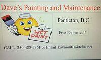 Experienced Painter/DryWaller/Handyman
