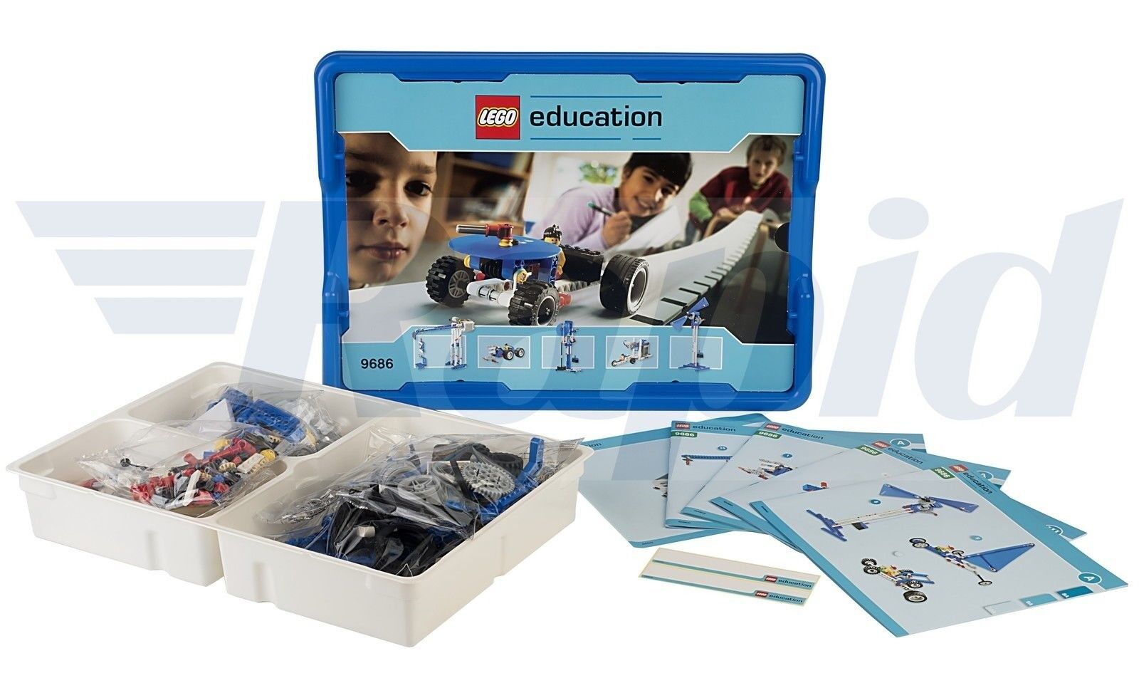 Details about LEGO 9686 Simple and Powered Machines Set