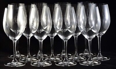 Riedel Degustazione Red Wine 0489/0 Case of 12 Crystal Glasses Perfect Condition