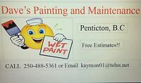 EXPERIENCED PAINTER / HANDYMAN