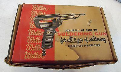 Weller Soldring Gun Model 8200 Dual Heat 100140 Watts 120v 60 Cy. 1.2a Usa
