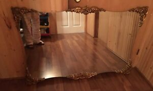 Large decorative mirror for sale. Just don't use anymore.