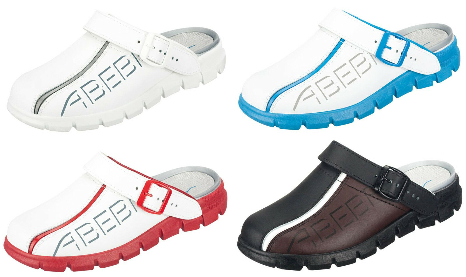 ABEBA Berufsschuhe Dynamic Clog Küchenschuhe Arbeitsschuhe Gastroschuhe Schuhe
