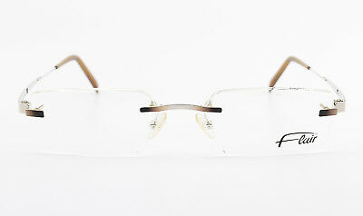 FLAIR Randlose Brille Mod. 748 Col. 525 Minimal Rimless Eyeglasses Frame NEW