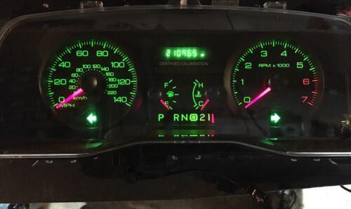Repair Service  Ford Crown Victoria Cvpi Gauge Cluster Odometer Display