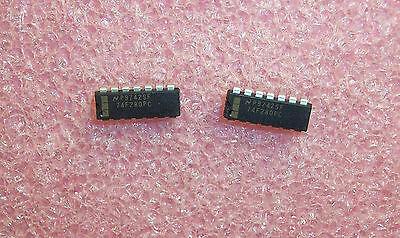 Qty 25 74f280pc Nsc 14 Pin Dip 9-bit Parity Generator Checker Nos 1 Tube