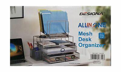 New Designa All In One Mesh Desk Organizer Ob