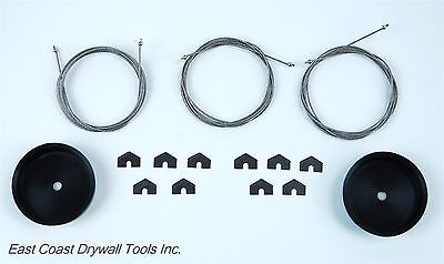 Automatic Drywall Taper Wear Parts Kit Fits Tapetech Tape Master Northstar