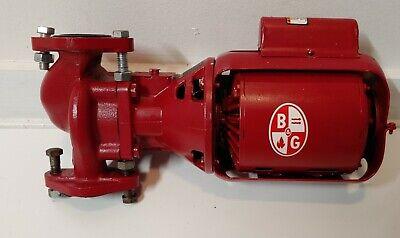 Bell Gossett 106189 112 Hp Series 100 Nfi Circulator Pump Leaks 4 Couplers