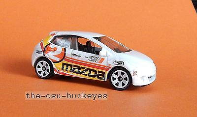 2011 Matchbox Loose Mazda 2 White with Red Black Yellow Brand New Combine Ship for sale  Shipping to Nigeria
