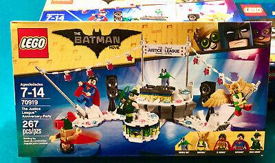 Lego 70919 Justice League Anniversary Party Batman Movie El Dorado Hawkgirl More