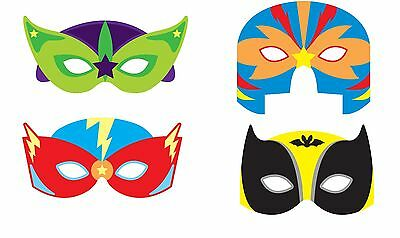 Super Hero Face Mask Eva Foam Masks with - Foam Superhero Mask