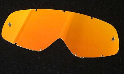 Ersatzglas Rot verspiegelt für Oakley O-Frame passend von RnR