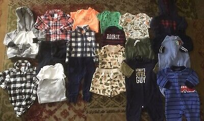 Baby Boy 0-3 3 months clothes lot Outfits Sleepers & More Carter's