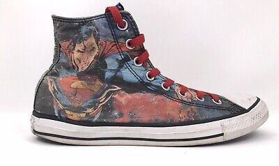 gh Tops Spiderman Unisex Size 9 Mens 11 Women Red Blue 9A (Spiderman Converse)