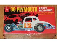 CD/_1911 #70-A  Cotton Owens  1936 Plymouth   1:64 scale decals  ~OVERSTOCK~