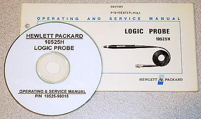 Hp 10525h Logic Probe Operating Service Manual