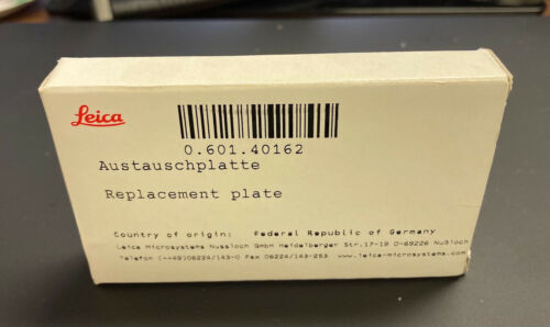 Leica Microsystems Biosystems IPC/IPS Replacement Plate #14060140162
