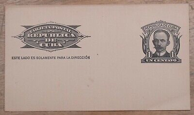 MayfairStamps Habana 1 Cent Famous Man Mint Stationery Card wwo79365