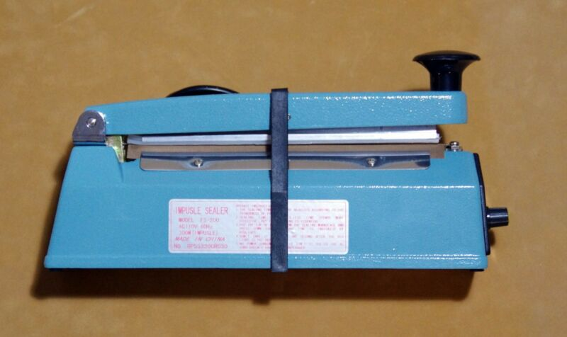 "**8""Impulse Sealer -NEW- FREE SHIPPING**"