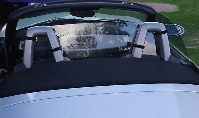 wind deflector defender blocker BMW Z4 E89   Windschott clear strap gebraucht kaufen  Versand nach Germany