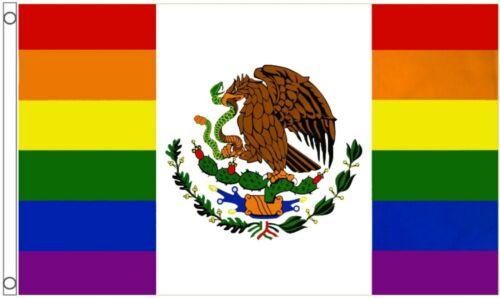 Mexico Rainbow LGBTQ+ Gay Pride 5